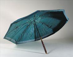 """Marius-system"" silk umbrella, circa 1715, French school"