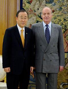 Gotha Brasil - Realeza News: Rei da Espanha recebe Secretário-Geral da ONU