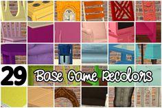Base Game Recolors Part 1