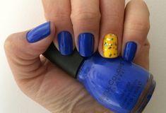 Esmalte da Semana: Azul e amarelo – Copa do mundo 2014