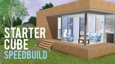 The Sims 3 Speed Build—Starter Home base game only*download later