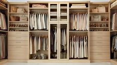 Maple Finish - Clothing Storage - Closet Ideas - Container Store - Home Organization