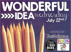 Kreative in Kinder: Wonderful Idea Wednesday! Classroom helper and birthday box!