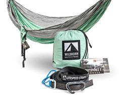 The Outpost I is big, strong, and easy to use. It's the only hammock we know of that includes a best of class suspension system. Each hammock comes equipped with a Litespeed suspension system that inc