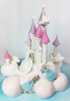 Princess Cloud Castle by Sweet Tiers, via Flickr