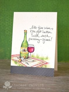 Purple Onion Designs: card by Therese Calvird