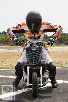 Brice sur son Stuntro MXS Racing