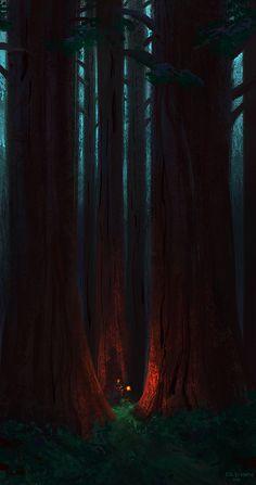 Random Rough Scribbles of Erik D. Fantasy Art Landscapes, Fantasy Landscape, Landscape Art, Wallpaper Animes, Anime Scenery Wallpaper, Amoled Wallpapers, Minimalist Wallpaper, Environment Concept Art, Dark Fantasy Art