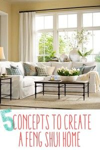 5 Simple Concepts to Create a Feng Shui Home