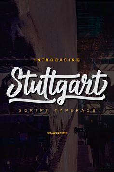 Stuttgart Script Font, #Affiliate #Stuttgart #Script #Font Attic Bedrooms, Photographer Portfolio, Script Fonts, Design Trends, Logo Design, Branding, Neon Signs, Digital, Stuttgart