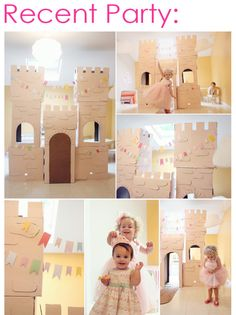 Mega-detailed storybook princess party (loads of great ideas for DIY parties)