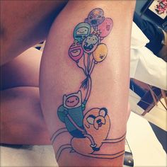 finn-jake-balloons-tattoo