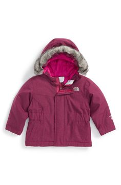 92d4cb2f166 The North Face  Greenland  Waterproof Down Jacket (Baby Girls)