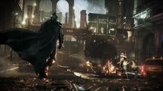 Years ago, reports surfaced that Batman: Arkham Origins studio WB Games Montreal canceled development on a direct sequel to Batman: Arkham Knight. Batman Arkham Origins, Batman Arkham Knight Wallpaper, Batman Arkham Knight Game, Batman Arkham Series, Batman Wallpaper, Hd Wallpaper, Batman Artwork, Gotham Batman, Superman