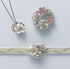 Japanese Jewelry Set