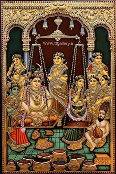 Mysore Painting, Tanjore Painting, Online Art Store, God Pictures, Hindu Art, Fashion Painting, Traditional Paintings, Indian Paintings, Online Painting