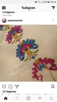This Pin was discovered by Ilk Cross Stitch Embroidery, Cross Stitch Patterns, Diy Projects To Try, Bargello, Diy And Crafts, Cool Stuff, Instagram, Handmade, Design