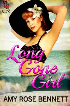 The cover for my upcoming release LONG GONE GIRL - a novella set in 1953 on the Jersey Shore. Isn't the cover model gorgeous?