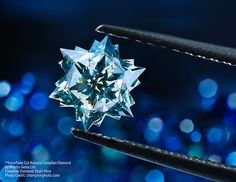 Canadian Diamond Snowflake from the Ekati mine