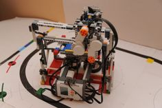 3D printer made out of Lego