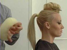"""le palais de la beauté """"hayet"""" démonstrations coiffure et maquillage 1 - YouTube"""