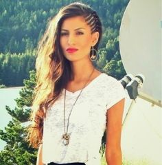 How to Chic: HALF HEAD CORNROWS HAIRSTYLES