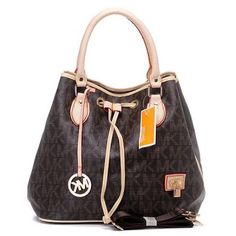 Michael Kors Logo Large Brown Tote