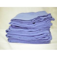 Blue Huck Towels/Surgical Towels.  Use these for washing the dishes, drying the dishes, wiping the counters, pot holders, tucking in your apron to wipe your hands, wiping the edges of plates for presentation. So many uses, use a bunch each day and just throw in the wash.