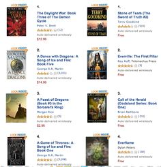 Roy Huff - Google+ Author of Amazon Kindle's #2 Epic Fantasy, #3 Teen Fantasy best seller Everville The First Pillar