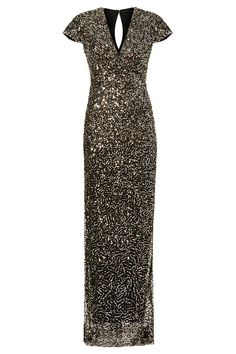 Rent Midnight Sequin Stars Gown by Nicole Miller for $90 only at Rent the Runway.