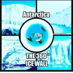 There looms a belief of an Antarctic Circle. What lies beyond the the great wall that surrounds our Earth pond? With lookout stations and report stations. supply drops, edging closer to the Great Escape. Flat Earth Facts, Flat Earth Proof, Flat Earth Meme, Flat Earth Conspiracy, Conspiracy Theories, Illuminati, Terre Plate, Antarctic Circle, Research Flat Earth