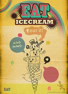 do panic eat ice cream