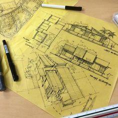 "13.4 mil Me gusta, 21 comentarios - ArchiSketcher (@archisketcher) en Instagram: ""Rolling out some design work by @syahdaud  #ArchiSketcher"""