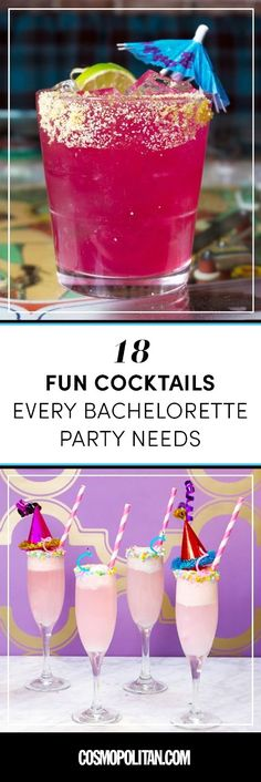 Sexy cocktails for a sexy celebration, obv~*.