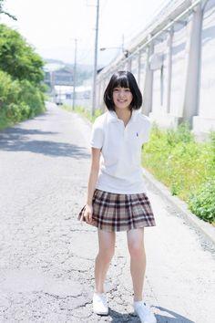 HIRATE_yurina 平手友梨奈 JK 制服 ポロシャツ