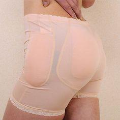 ccf3a07abd8ff Full Women Hip Enhancer Pads Butt Shaper Seamless Crotch Pads Underwear  Panties