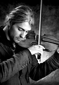 David Garrett (1980 - ) is a record-breaking German pop and crossover violinist and recording artist.