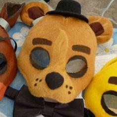 Cinco noches en Freddy - Freddy Fazbear máscara
