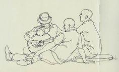 Urban Sketchers: Music at The Bassline