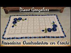 PASSADEIRA QUADRADINHOS /DIANE GONÇALVES - YouTube