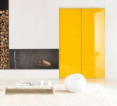 Des portes de placard coulissantes créatives - 15 grands placards design - CôtéMaison.fr