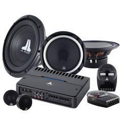 "Amplificador 4 vías 75w RMS RD 400/4 + Set de Medios 6.5"" C2-650 + Woofer 12"" 12W0V3"