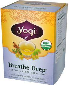 Yogi Organic Breathe Deep