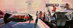 Doctor Ojiplático. Syd Mead. Futurist Designs