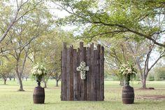 rustic outdoor chapel | Anna K Photography #wedding