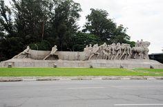 ❤ - Monumento às Bandeiras de Victor Brecheret - São Paulo - Brasil