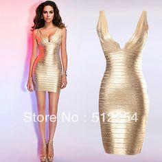 f9a95edd19 Free Shipping Women s Golden Bodycon Bandage Dress New Green Coating  Evening Dresses  87.90. Laura Engert