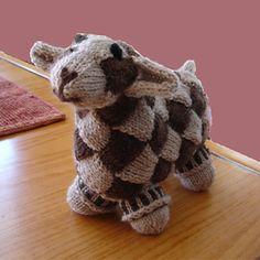 Entrelac Sheep by Sue Flanders & Janine Koselclose view Liziak's Entrelac Sheep © Liziak