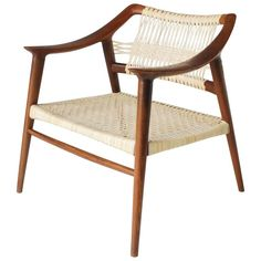 Rastad and Relling Bambi Easy Chair by   Bahus Norway ca.1950's