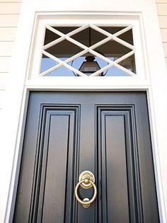 Bold door, big first impression.
